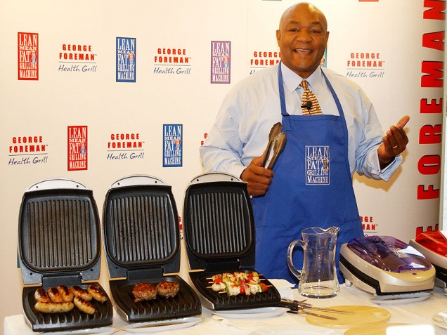 george foreman grill 860 Knock Out The Fat With George Foreman